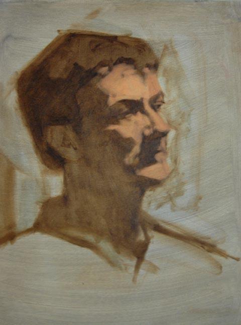 Studio Incamminati Blog: Level 3 Portrait Painting class at Studio Incamminati - Core Curriculum