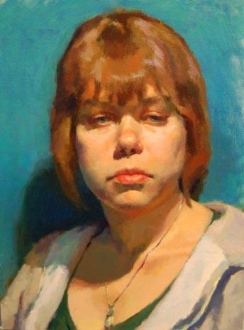Studio Incamminati Blog: Level 3 Portrait Painting class at Studio Incamminati - Core Curriculum