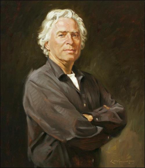 Ben Lustenhouwer: Portrait Painter in Oil and Watercolor