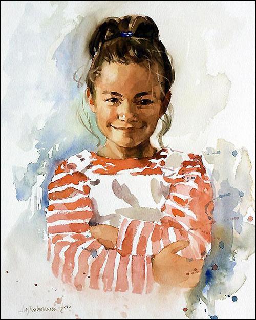 Ben Lustenhouwer: Portrait Painter in Oil and Watercolor