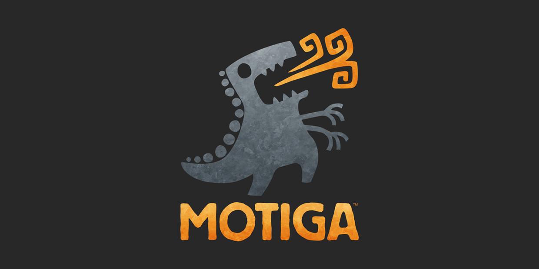 Motiga Logo and Branding on