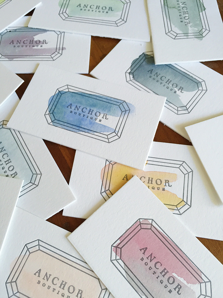 FPO: Anchor Boutique Business Cards