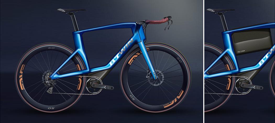 Single Bike, Double Frame | Yanko Design