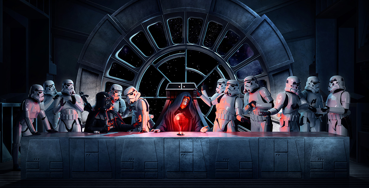 Star Wars: The Last Supper on