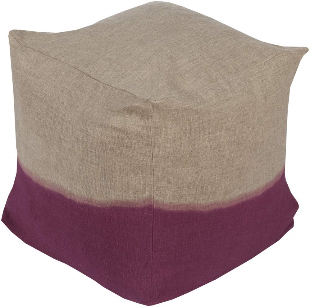 Surya - Surya Dip Dyed Pouf Ddpf-005 Clearance #134949