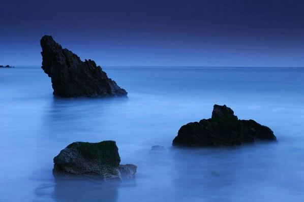 Rocks in Blue - Photograph at BetterPhoto.com