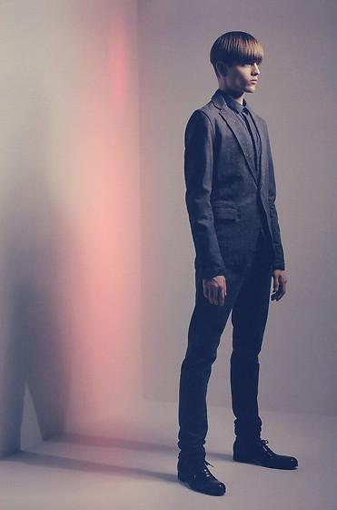 """Blazer, Shirt, Trousers, Shoes //""""Vanished"""" by Pawel Bednarek // LOOKBOOK.nu"""
