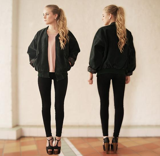 "Jacket/Shirt, Jeans, Shoes //""BOMBER"" by Fanny Lindblad // LOOKBOOK.nu"