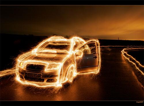 23 Astonishing Examples of Light Painting | Inspiration