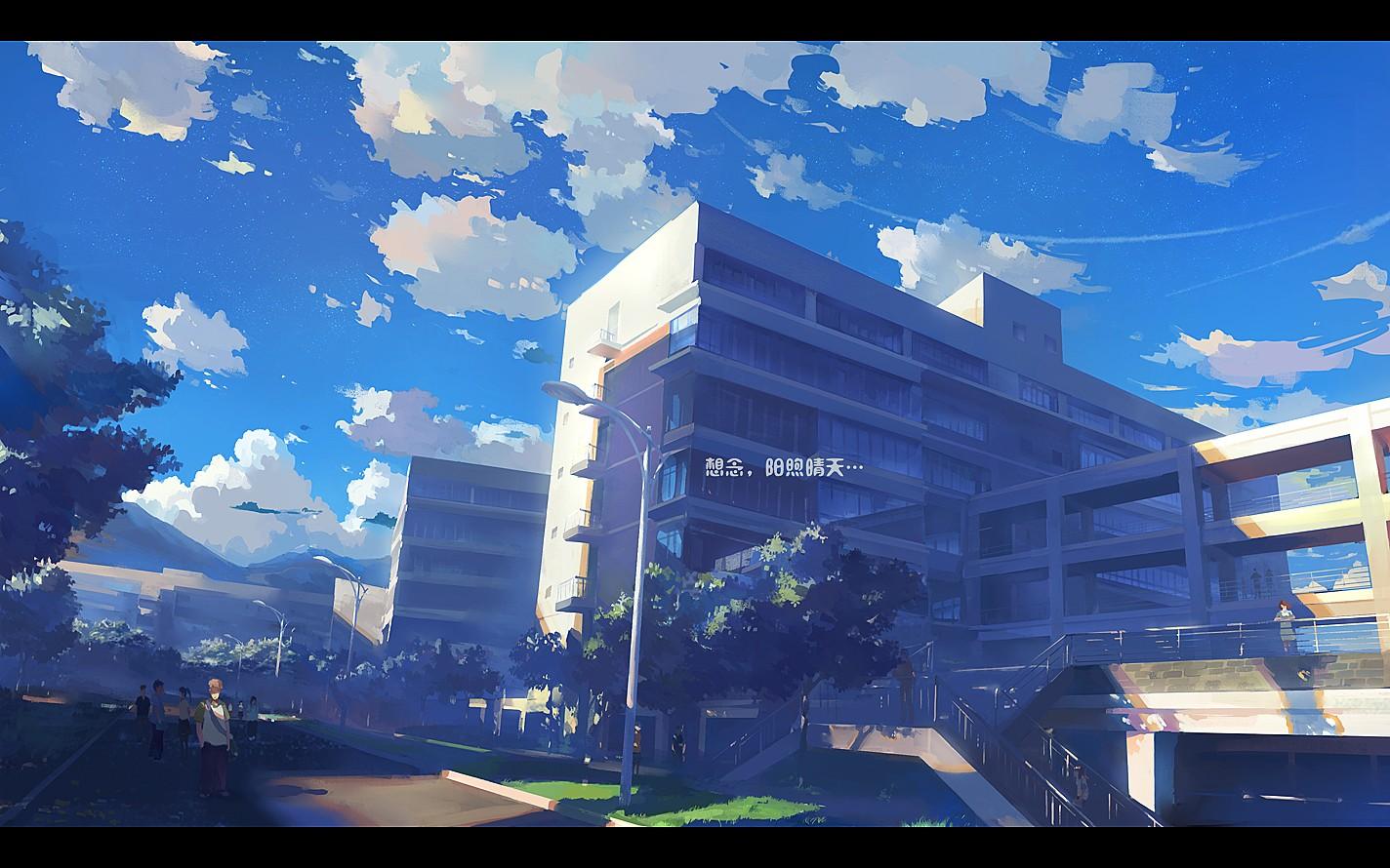 digital scenery wallpaper