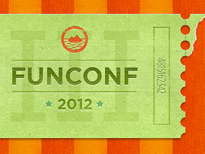 Funconf Ticket by Paddy Donnelly