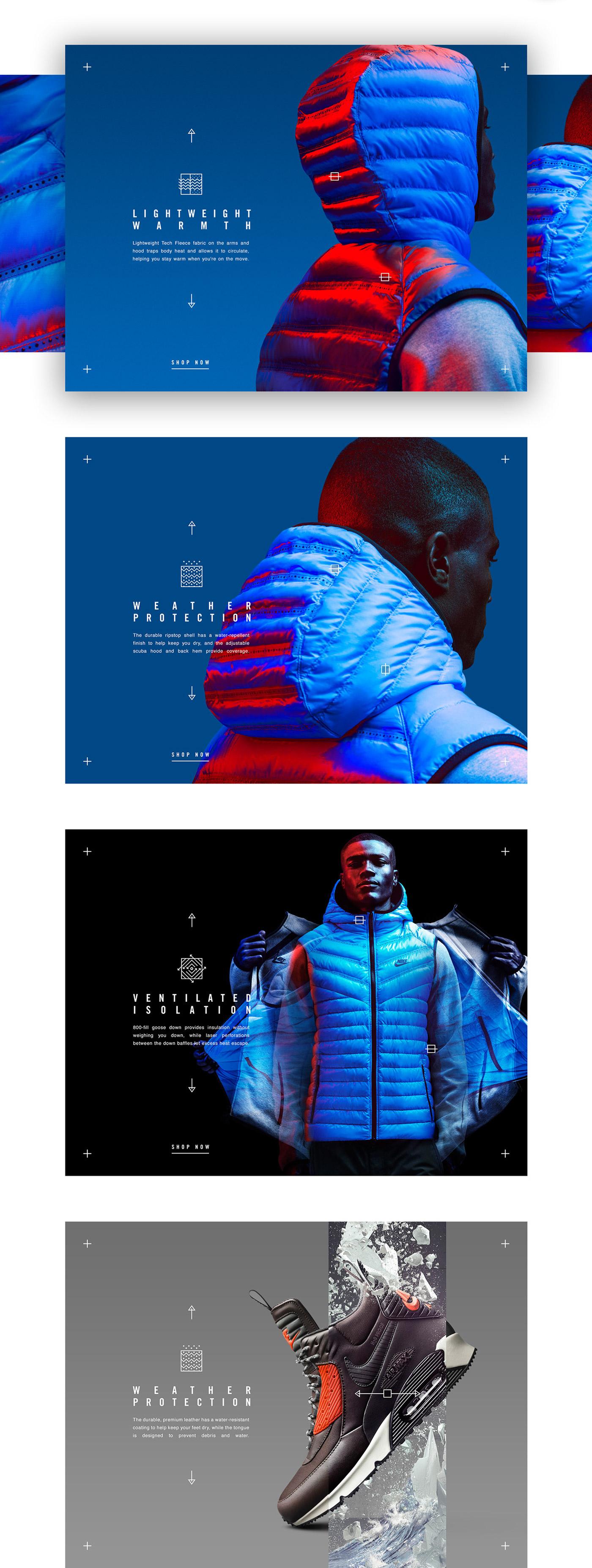 Nike Tech Pack in store app on