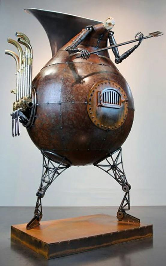 Cutting Edge Art / Sounding the Furnace by Greg Brotherton