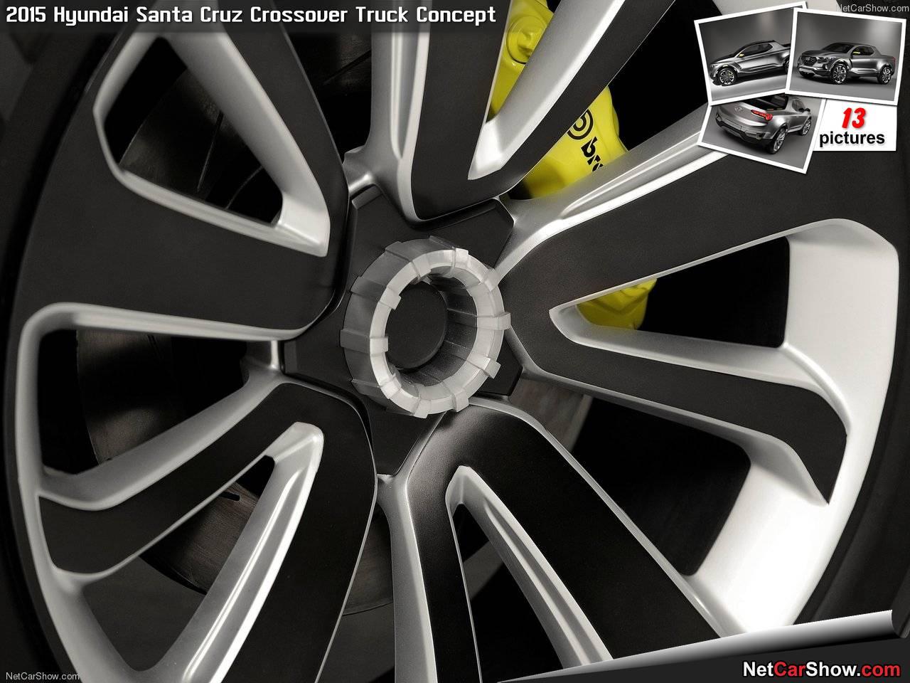 Hyundai Santa Cruz Crossover Truck Concept (2015) picture #11, 1280x960