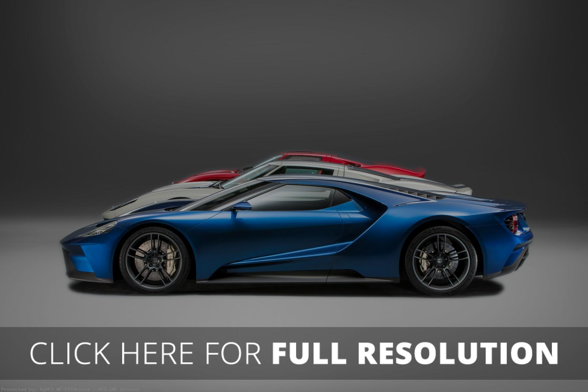 10+ Awesome 2016 Ford GT Side View pictures