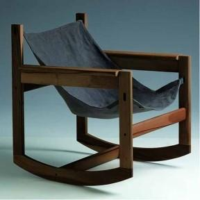 Atelier / Pelicano Rocking Chair designed in 2003 by French designer Michel Arnoult