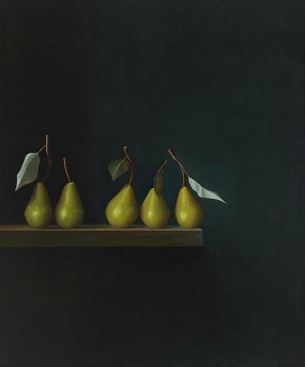 Food as Art / Malcolm Rains :: Five Pears, September