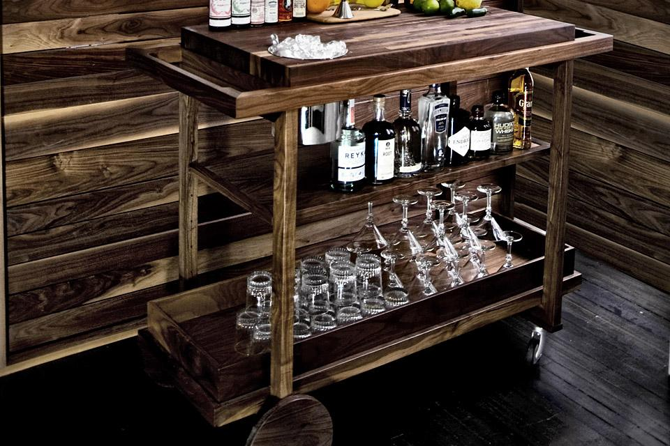 Bar Cart No. One | Uncrate