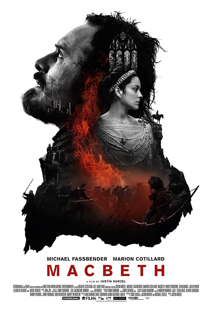 Macbeth Posters Stun in Black and White on Inspirationde