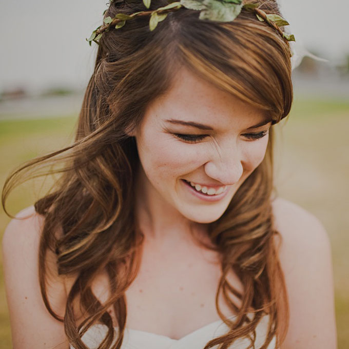 14 Wedding Hairstyles for Curly Hair | Brides.com #557630 on Wookmark