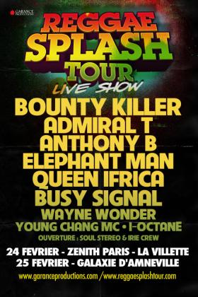 Reggae Splash Tour : L'énorme affiche à ne pas rater ! - La Grosse Radio Reggae - Ecouter du Reggae - Webzine Reggae