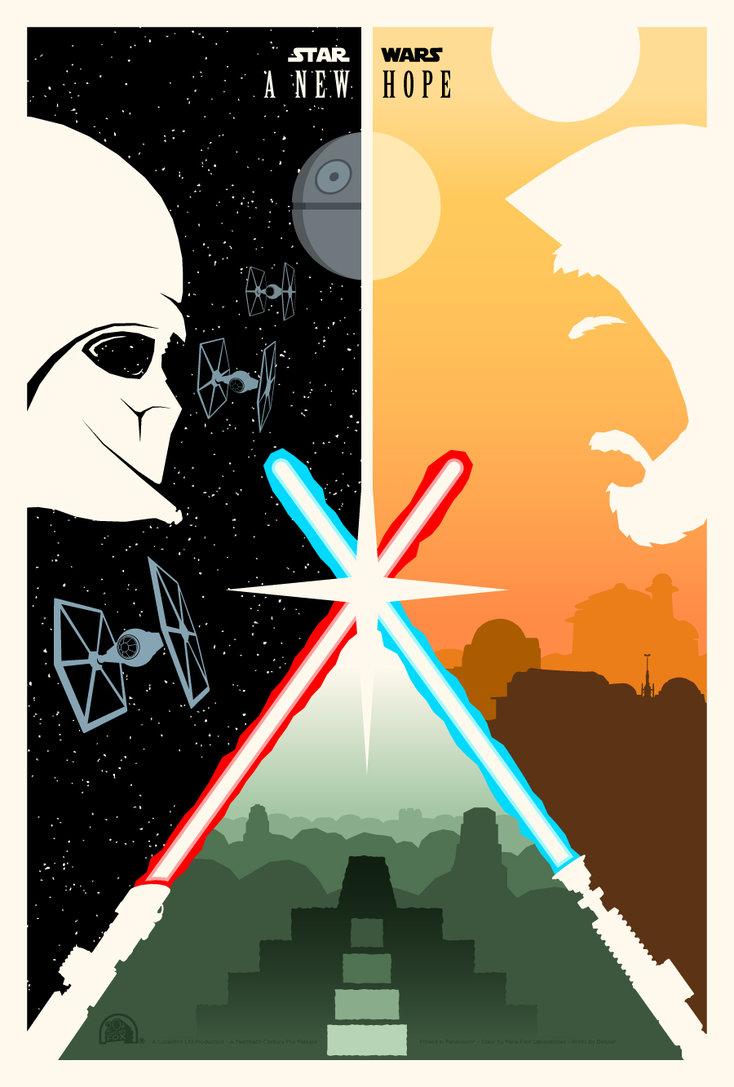 Retro film posters by Adam Rabalais. | PJTierney.net