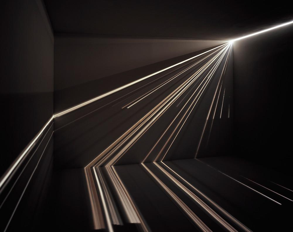 Brilliant Light Beam Art, Made Using The Oldest Trick In The Book | Co.Design: business + innovation + design