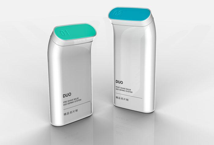 DUO: Pre & Post Shaving Balms - The Dieline: The World's #1 Package Design Website -