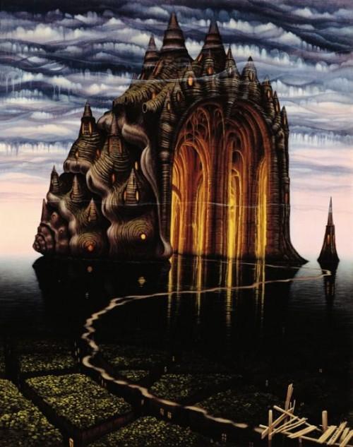 Surreal paintings of Jacek Yerka › Zuza Fun