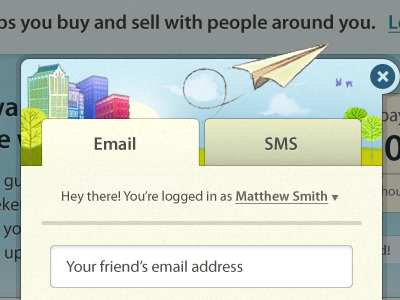 Send to a friend by Matthew Smith