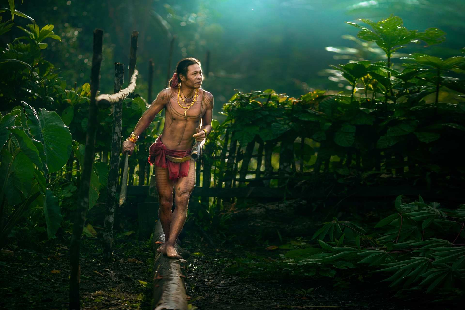 The Nomadic Life of The Mentawai Tattooed People