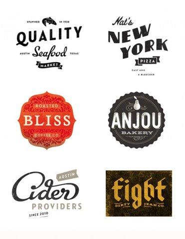Modern Vintage: Simon Walker Lettering and Logos « Vintage Me Oh My
