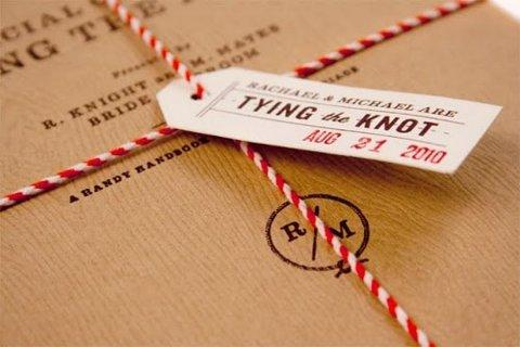 Wedding Field Guide Invitations   Oh So Beautiful Paper