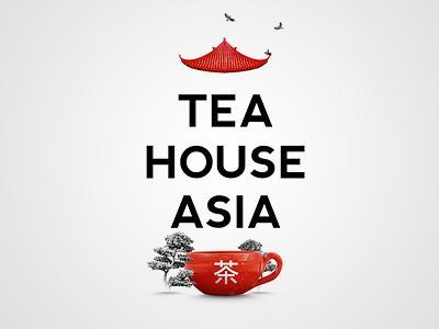 Tea House Asia by Berik Yergaliyev