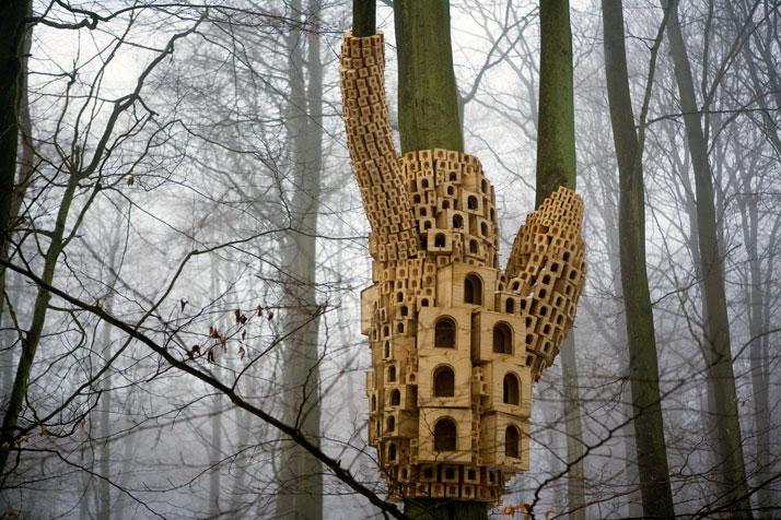 Spontaneous City in the Tree of Heaven by London Fieldworks | Yatzer