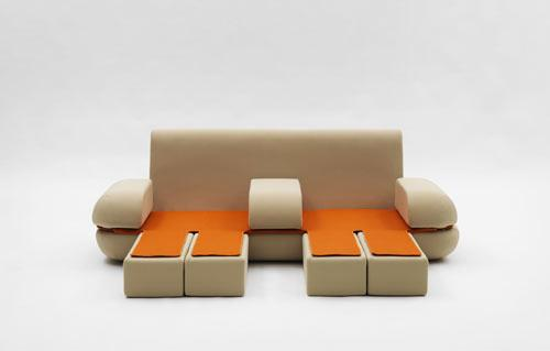 Dynamic Life Sofa by Matali Crasset | Design Milk