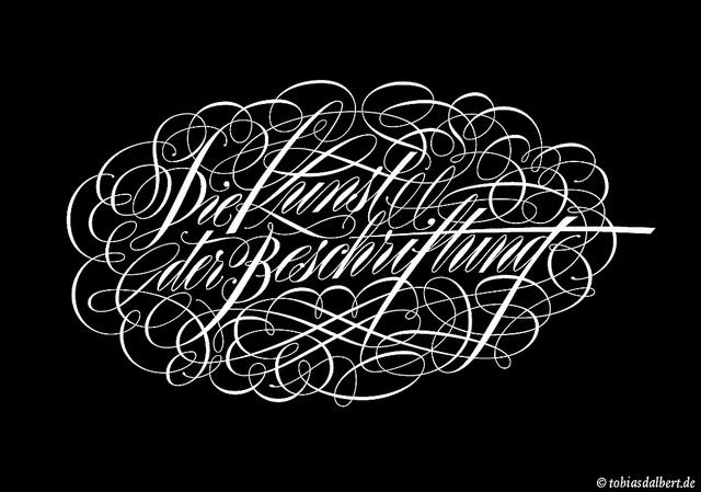 Die Kunst der Beschriftung - the art of lettering | Flickr - Photo Sharing!