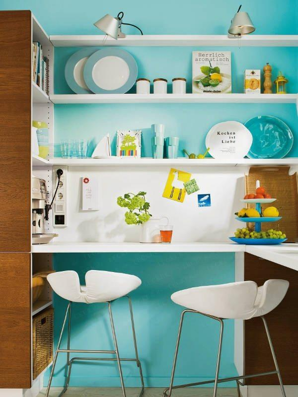 Blue Kitchen Love | Interior Design, Interior Decorating Ideas, Architecture