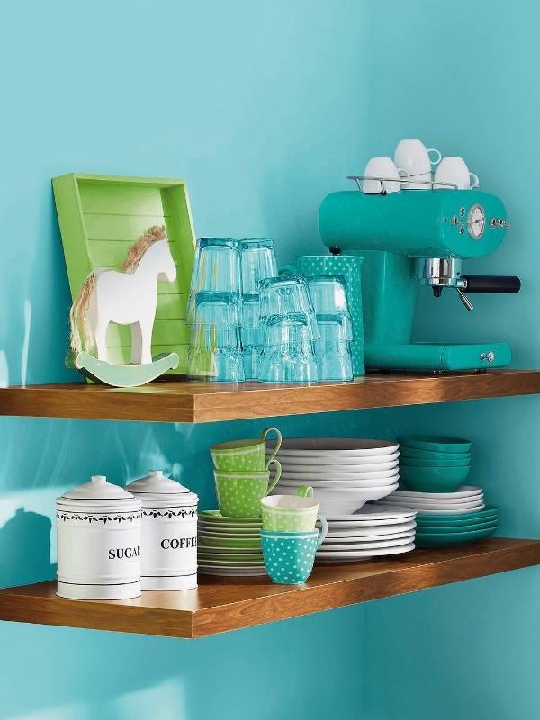 Blue Kitchen Love   Interior Design, Interior Decorating Ideas, Architecture