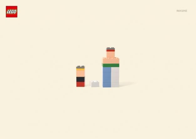 Art-Spire, Source d'inspiration artistique / Le très original projet Lego Imagine