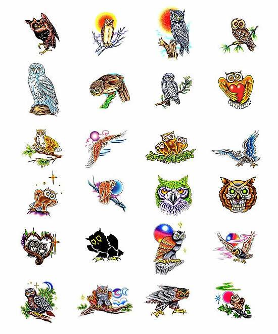 tattoo-art-owls.jpg (550×660)