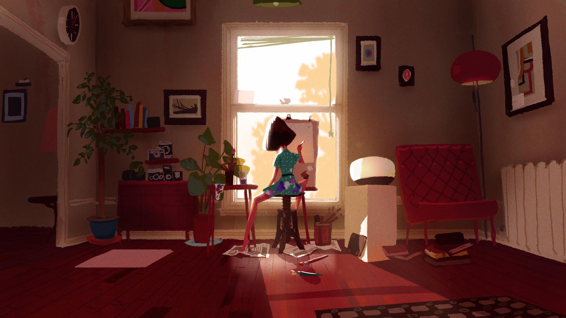 ArtStation - Living Room Studio, Mike Redman