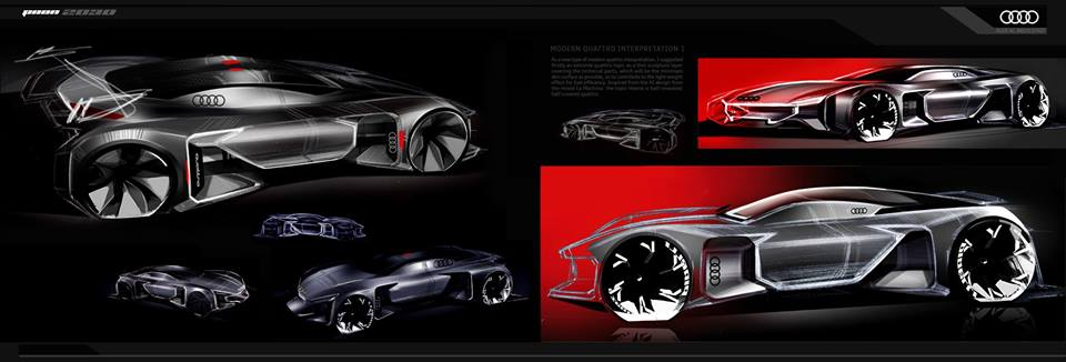 Sketch Storm Audi Konzept Paon 2030 By Lucia Lee This