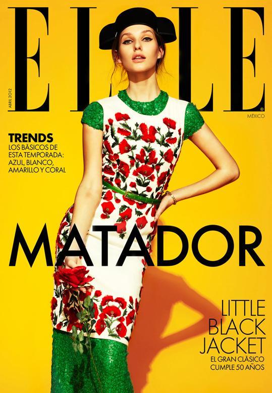 NAS CAPAS: ELLE MEXICO