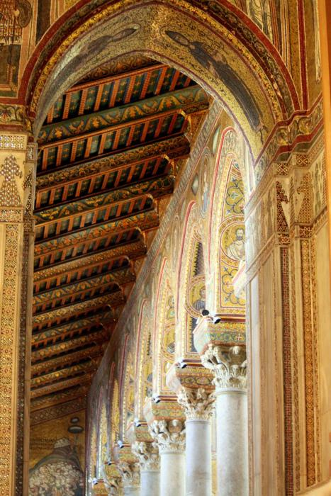 looking for rainbows in the moonlight — ninbra: Cathedral of Monreale, Palermo, Sicily,...