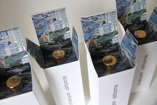 design work life » Leslie David: Chalayan Airborne Fragrance Packaging