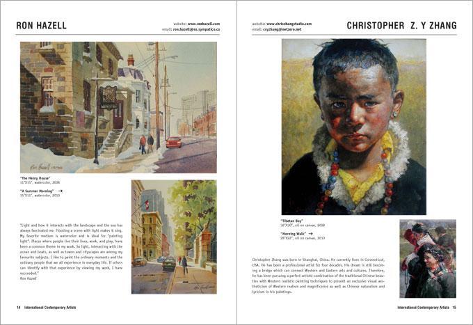 International Contemporary Artists - Call for artists
