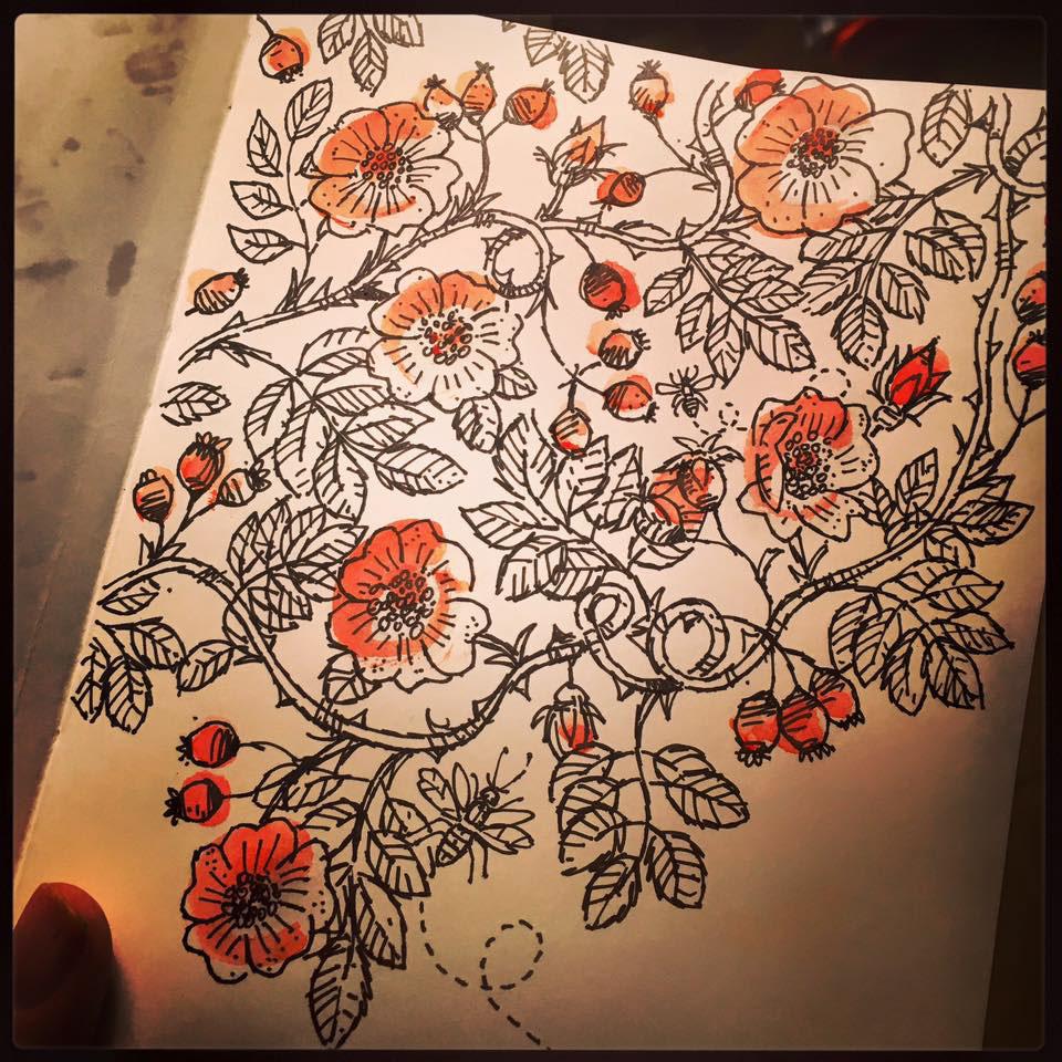 Sketchbook 2016 on