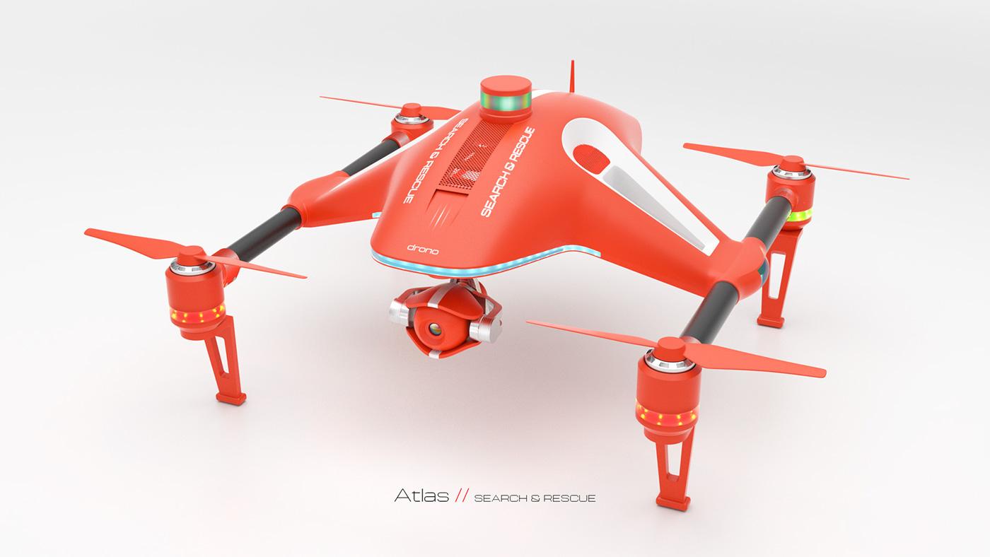 Drono: Atlas Concept Drone on