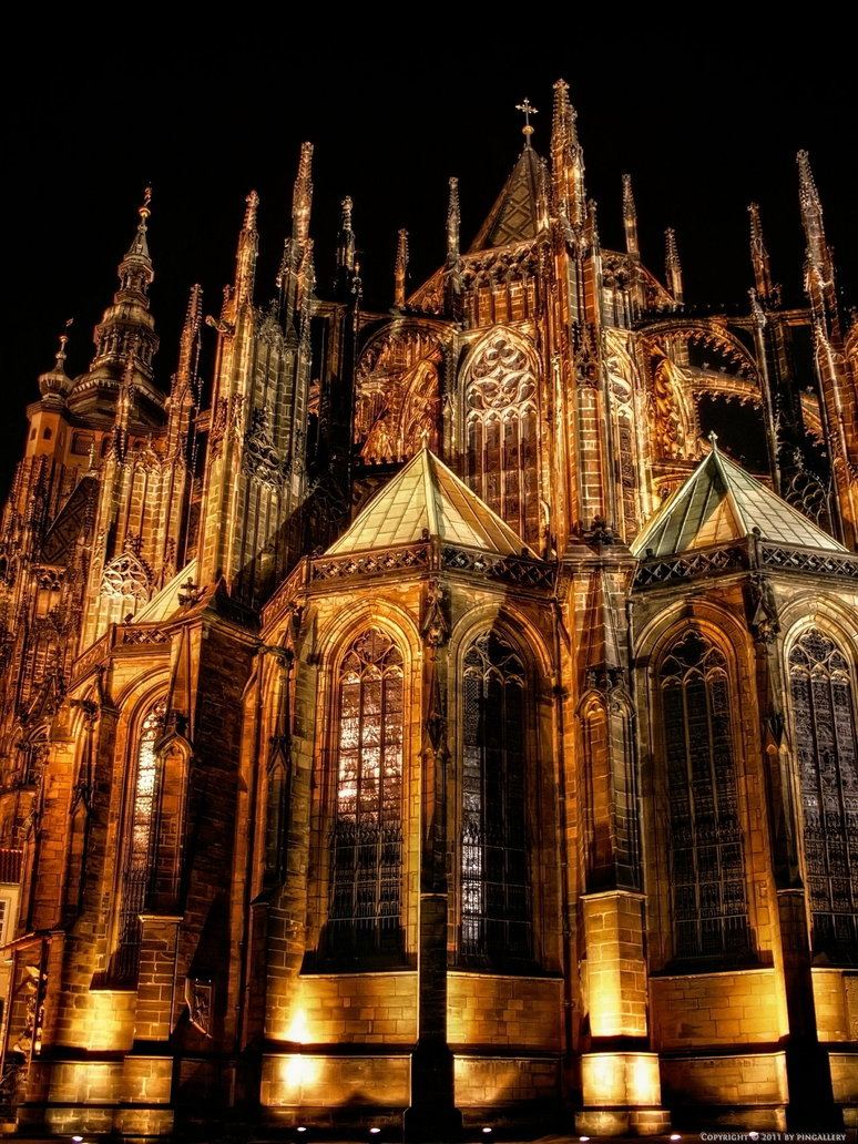 Prag - St. Veits Dom II by *pingallery